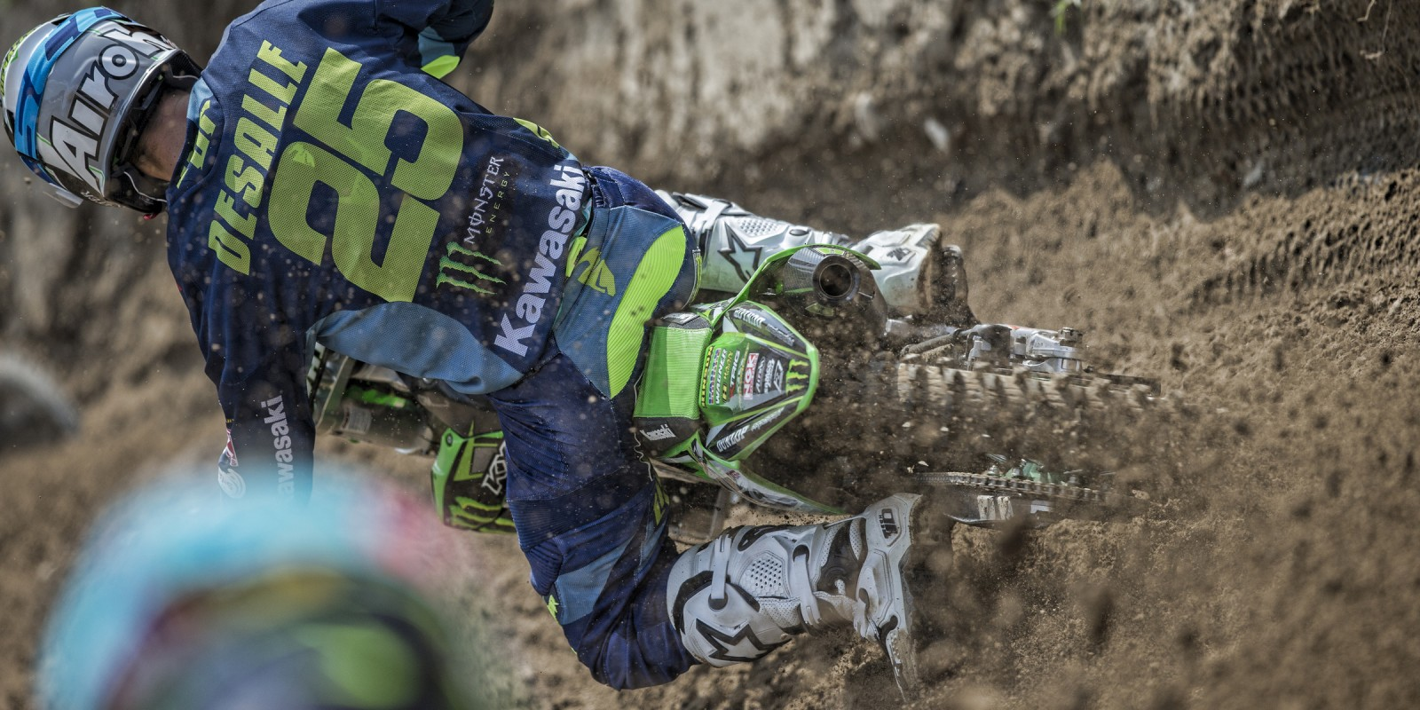 Clement Desalle at the 2016 MXGP of Lombardia
