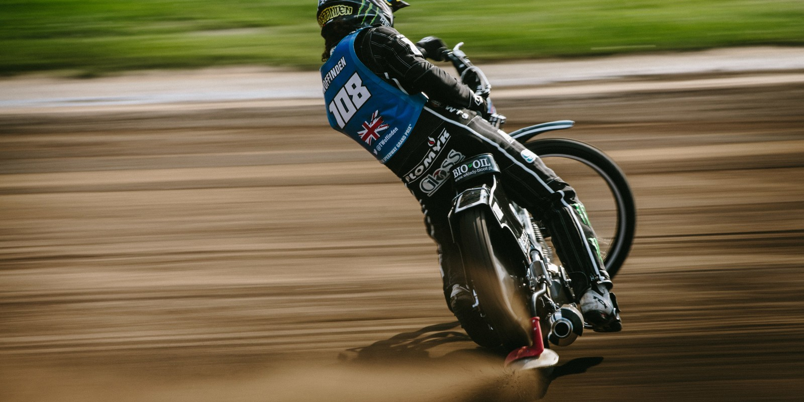 Images from practice of the 2016 Czech Republic Speedway Grand Prix