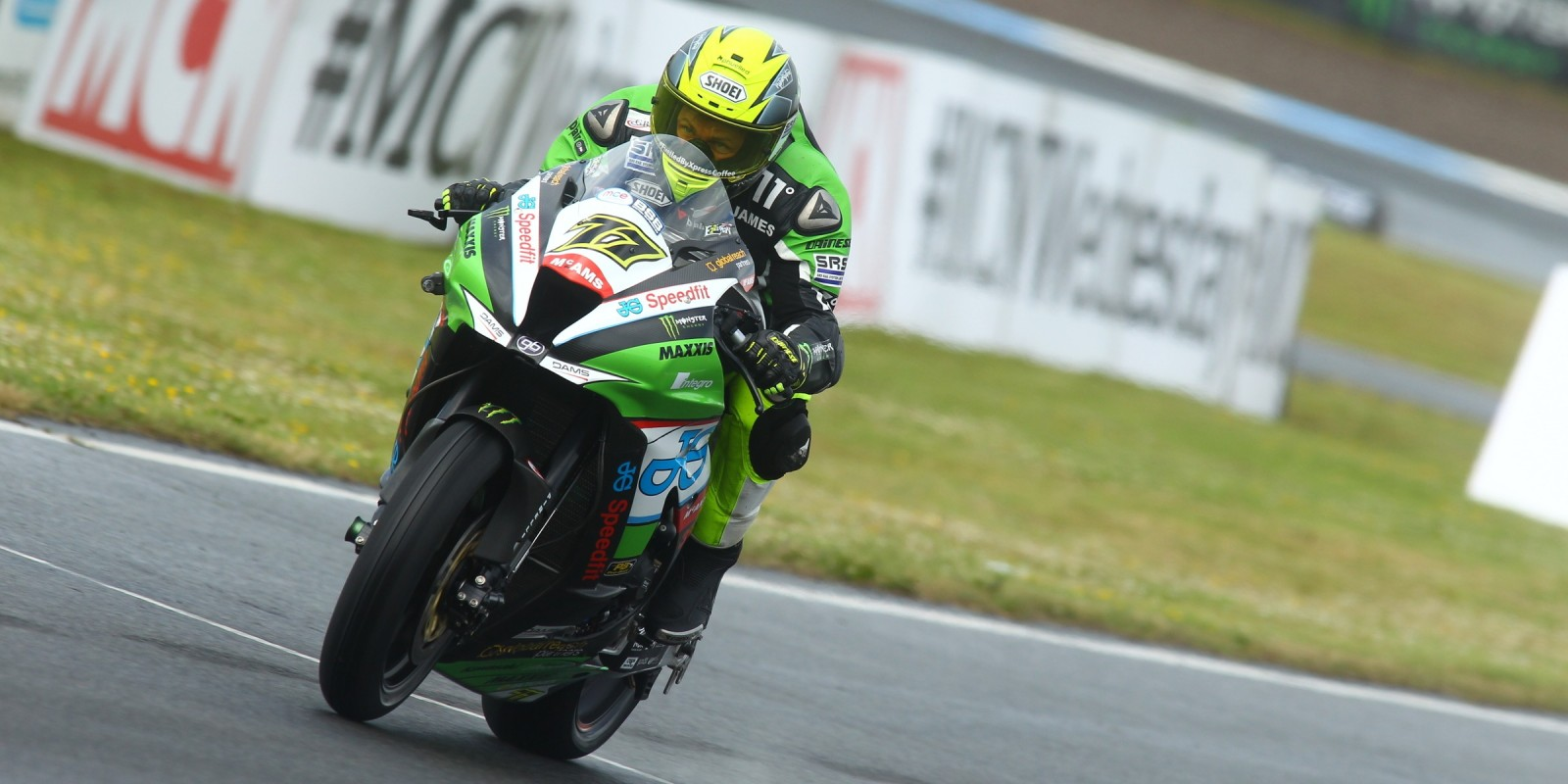 James Ellison at the 2016 BSB Knockhill, Day One