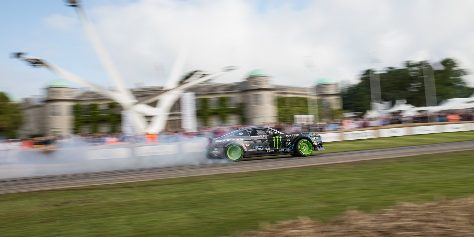 images from Sunday am at Goodwood Festival of Speed 2016