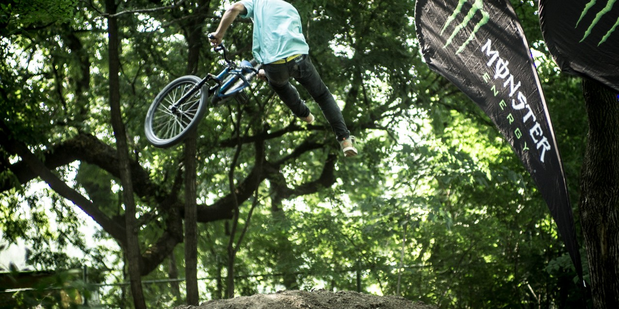 MTB and BMX competition in Subotica, Serbia
