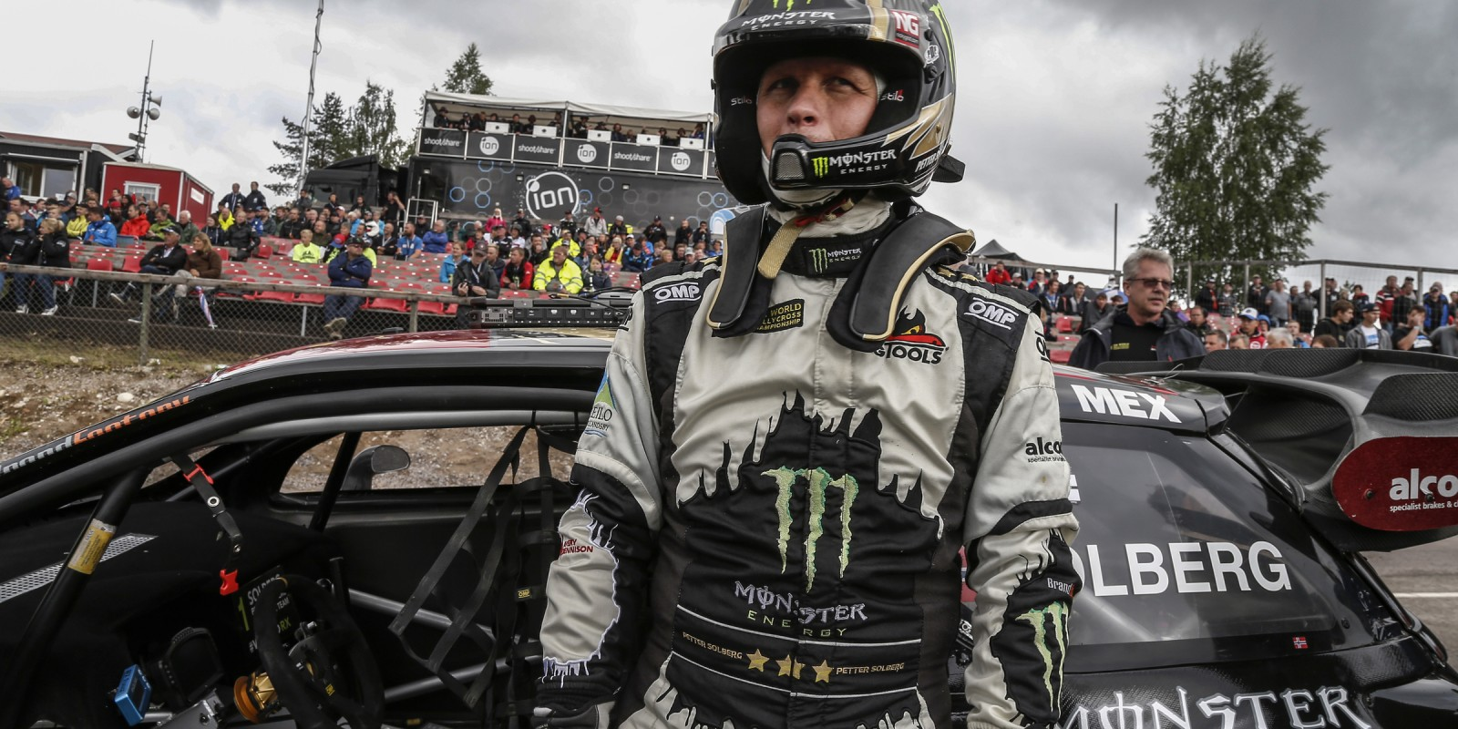 Friday images from the 2016 World RX of Sweden