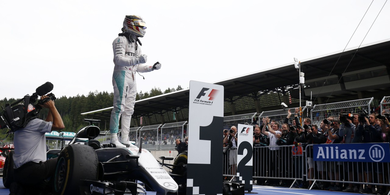 Sunday images from the 2016 Austrian Grand Prix