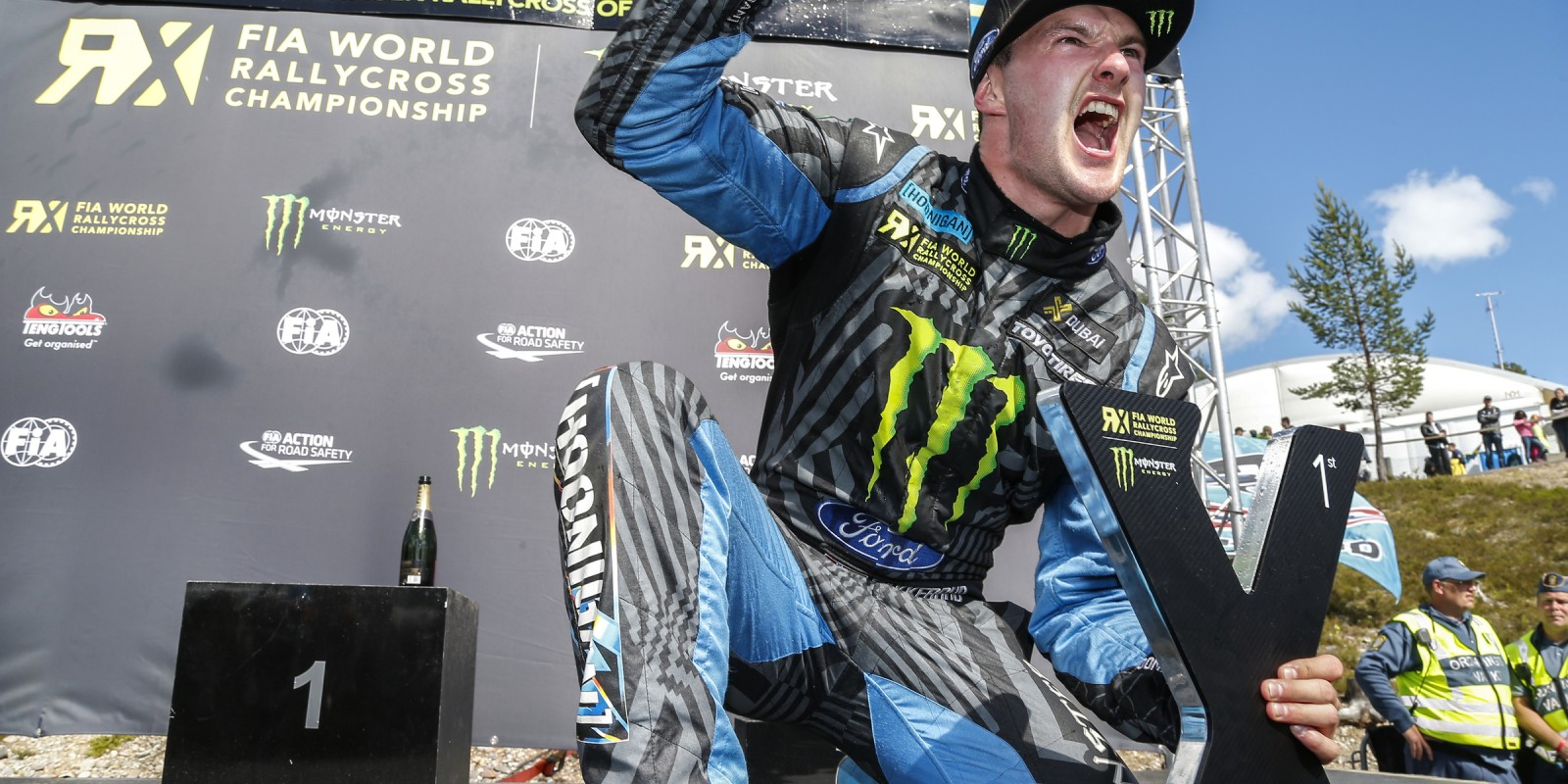Sunday images from the 2016 World RX of Sweden