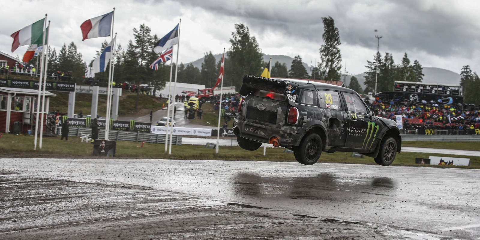 Saturday Images from the 2016 World RX of Sweden