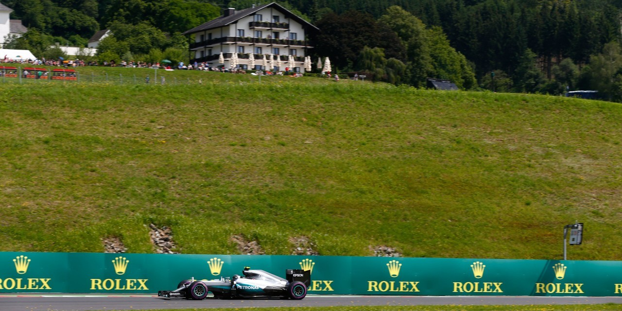 Friday images from the 2016 Austrian Grand Prix