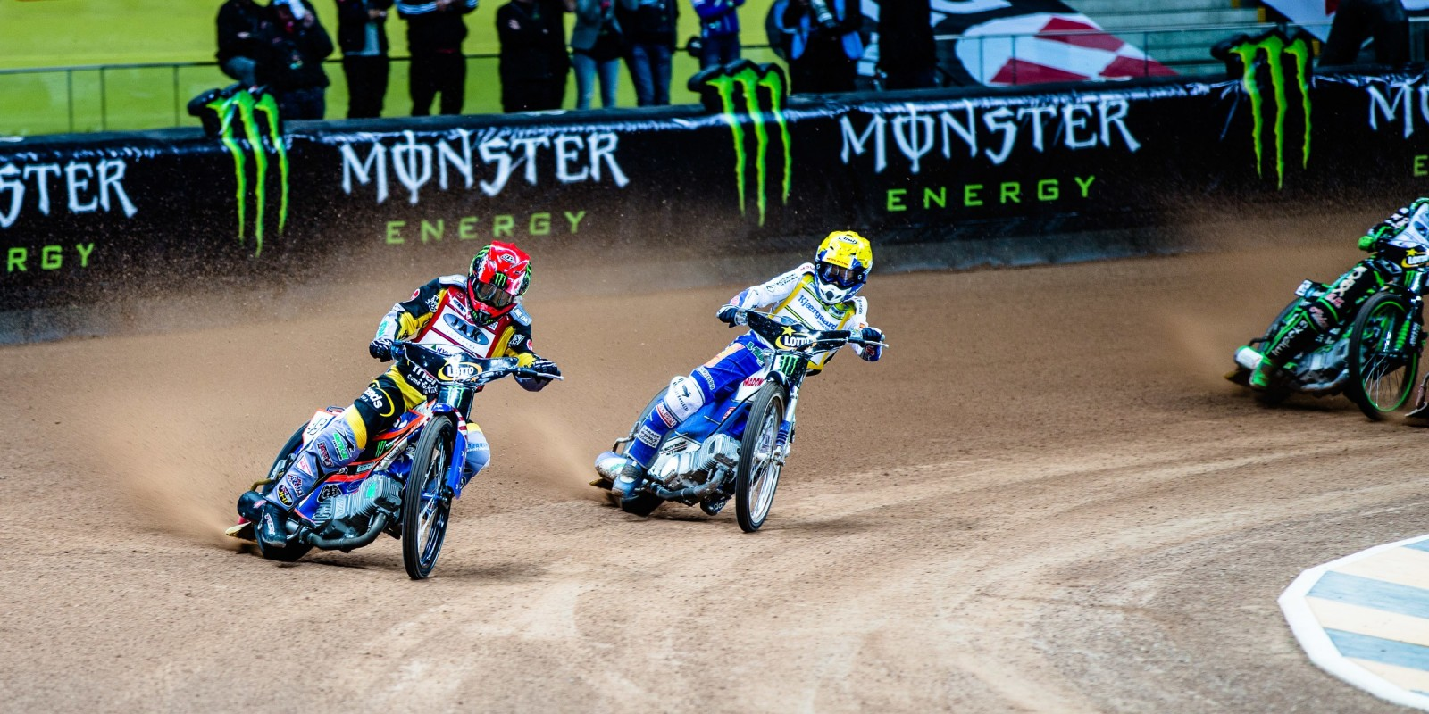Images from round 2 of the Speedway Grand Prix series from Warsaw, Poland