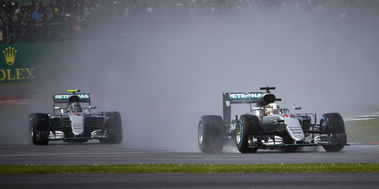 Sunday images from the 2016 British Grand Prix