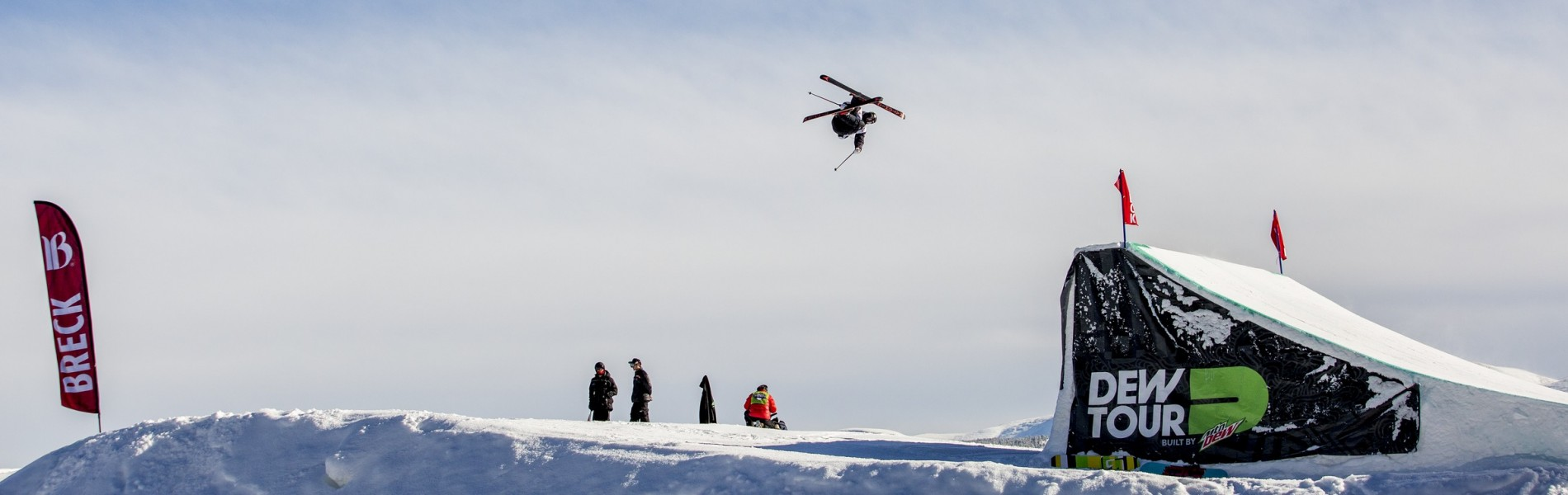 Gus Kenworthy at the Winter Dew Tour in Breckenridge, CO