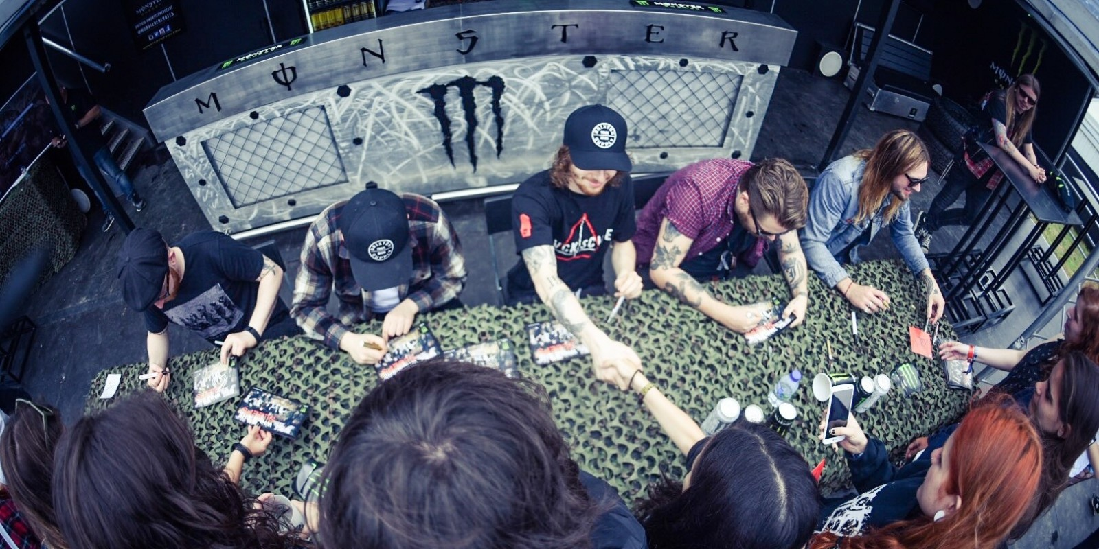While She Sleeps Signing session and live show at Resurrection Fest