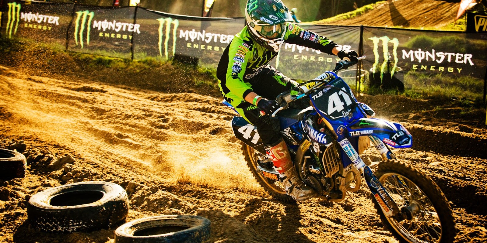 Tristan Purdon at Round 3 of South Africa MX Nationals in Port Elizabeth, South Africa