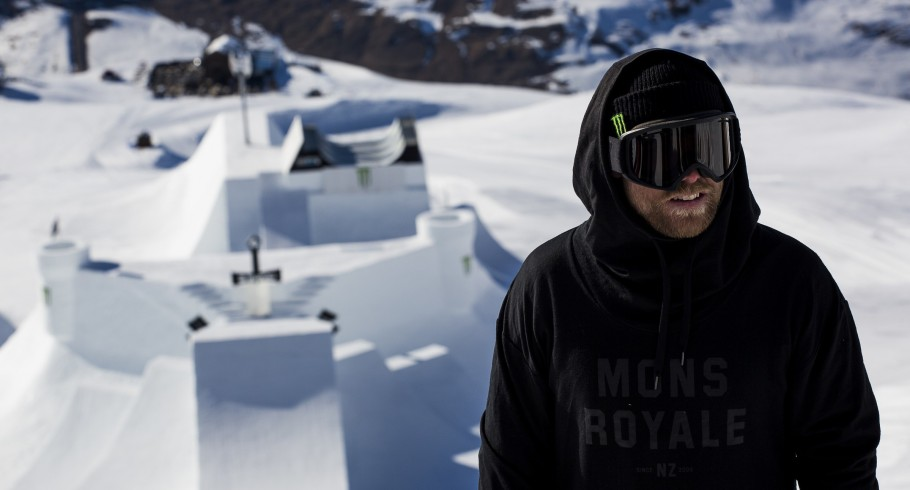 Jossi Wells at day 3 of the 2015 Nine Knights in Livigno, Italy