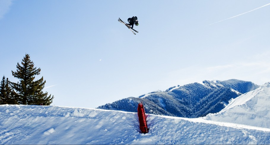 Jossi Wells competing in Aspen, CO at Winter X Games