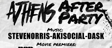 Poster about The Street Series after party, Greek Version