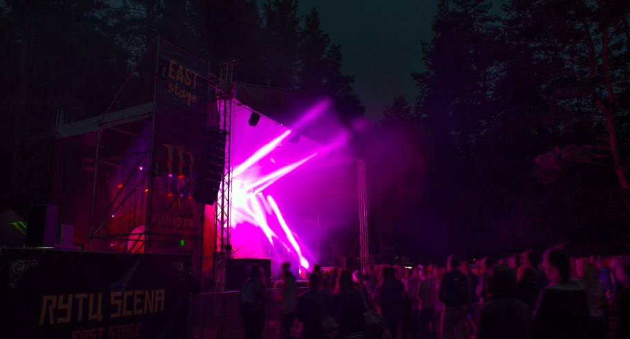 Photos from music festival Devilstone in Anyksciai, Lithuania