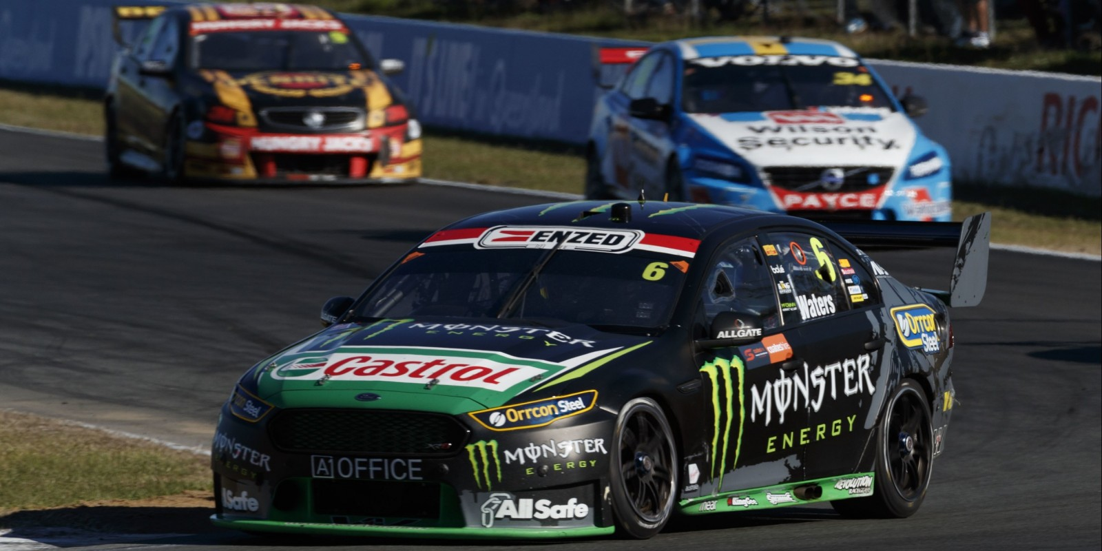 Cameron Waters competes in the 2016 Supercars season in Ipswich