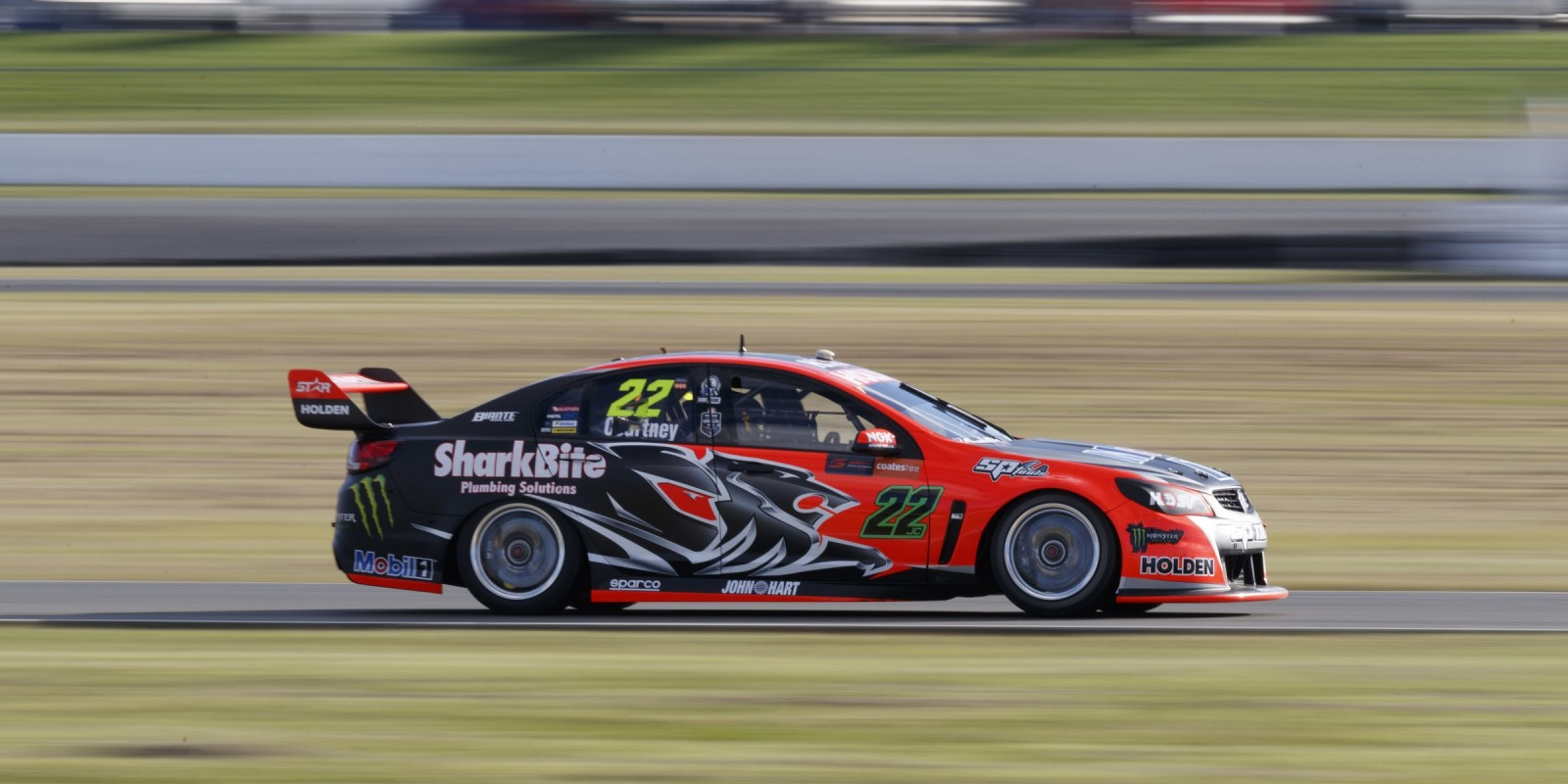 James Courtney competes in the 2016 Supercars season in Ipswich