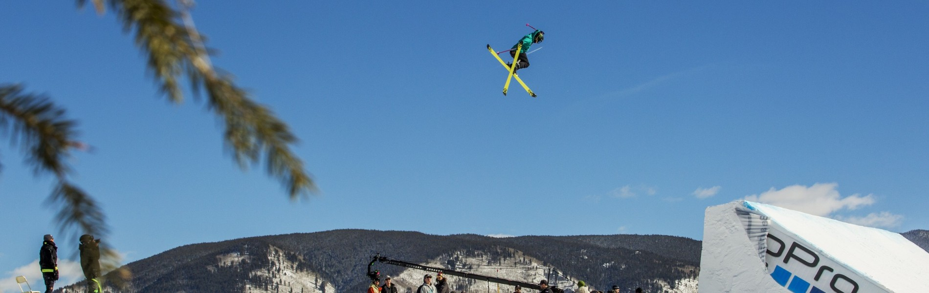Maggie Voisin competes in the 2016 Winter X Games.
