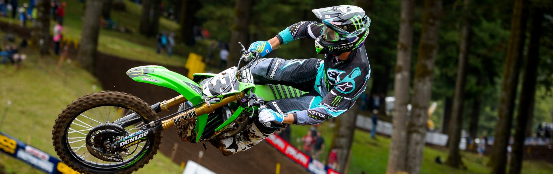 Round 9 of the 2016 Pro Motocross Championship Series in Washougal, WA