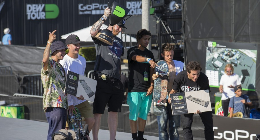 Trey Wood Skateboarding at 2016 Dew Tour in Long Beach, CA