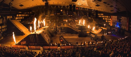 Monster Energy at the 2015 Masters of Dirt in Vienna, Austria