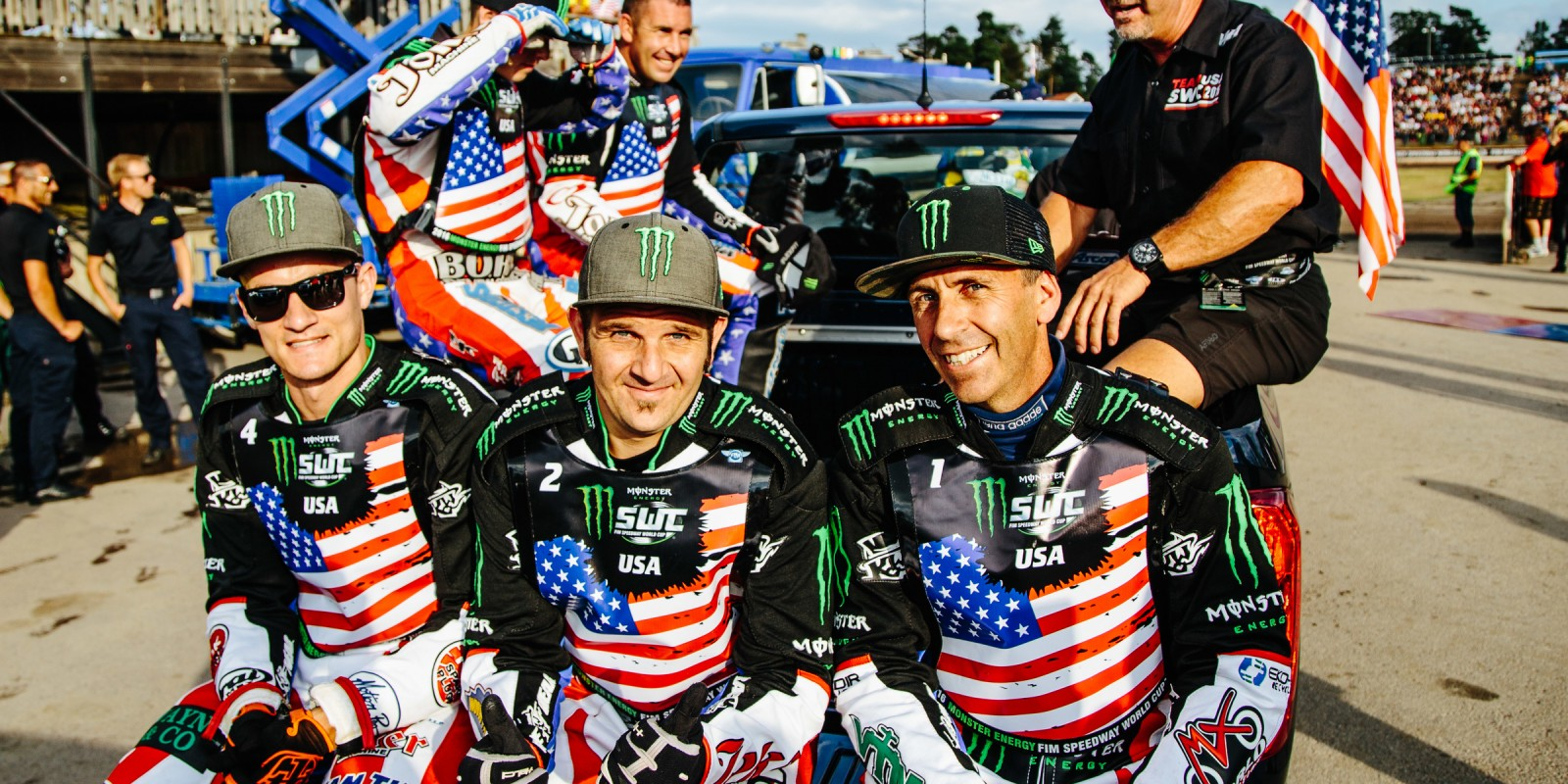 Images from Event Two of the Monster Energy Speedway World Cup