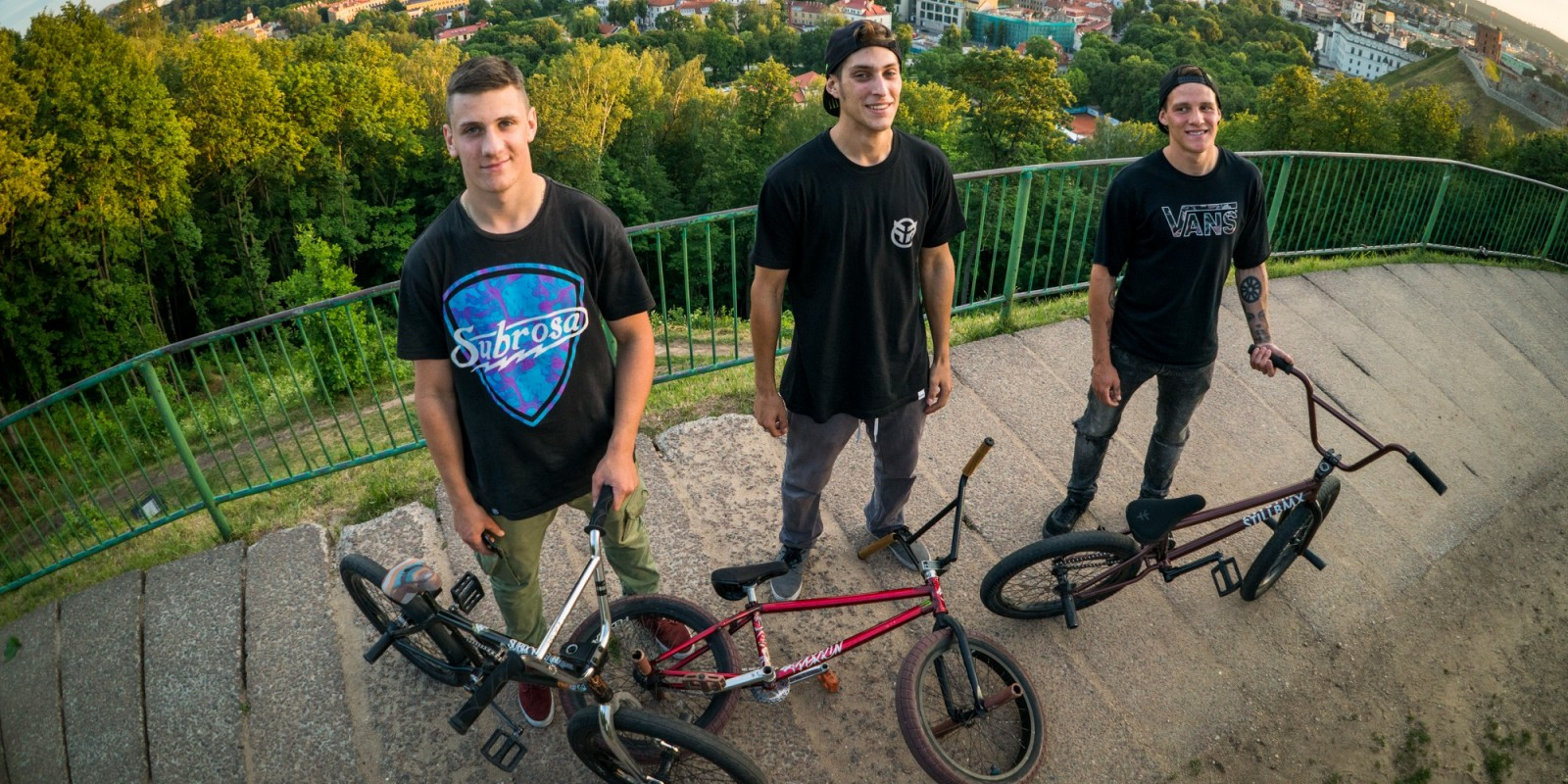 Lost In BMX series - episode #2 Vilnius, LT