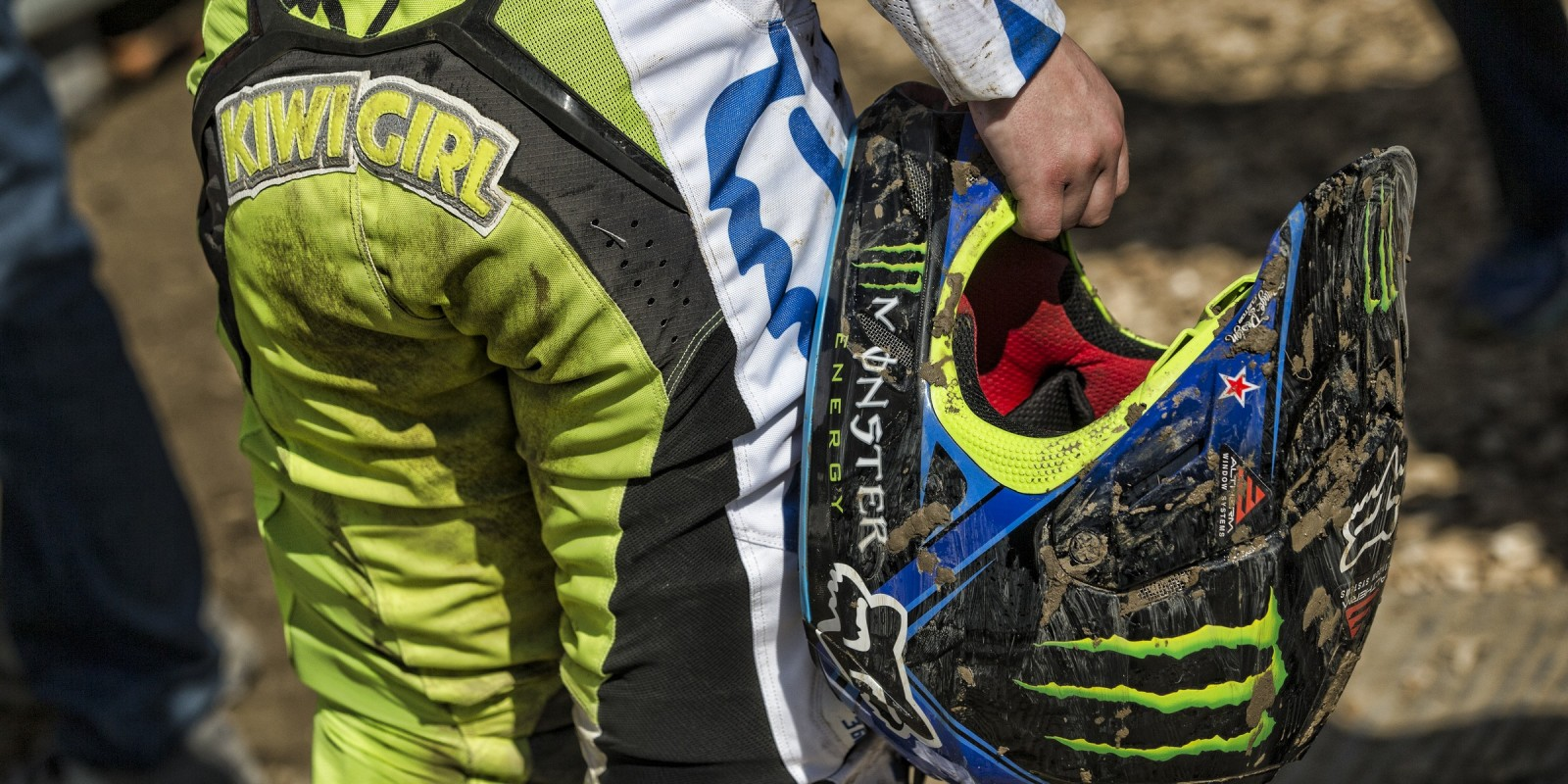 Courtney Duncan at the 2016 MXGP of Switzerland