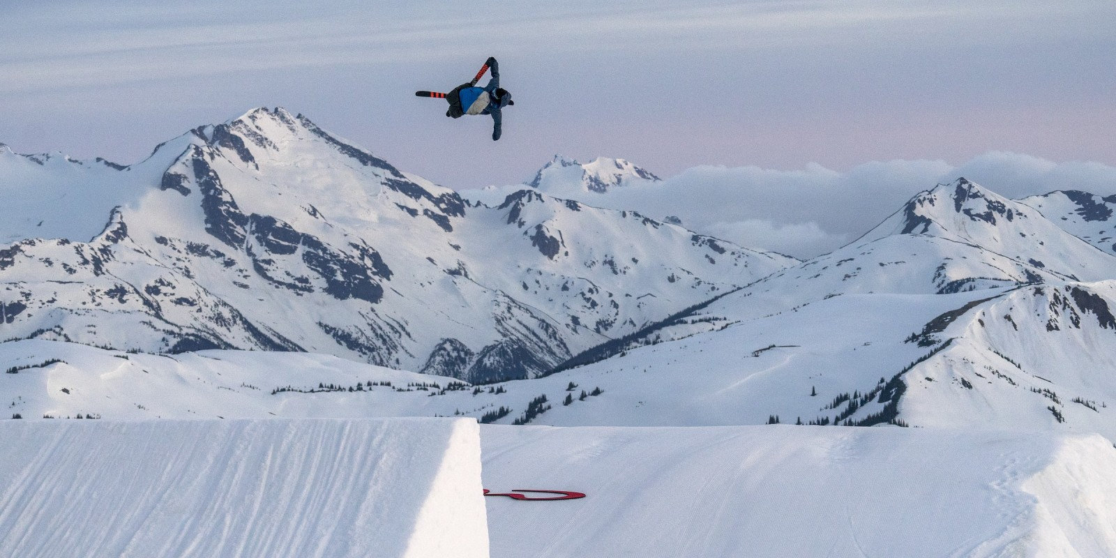 Chris Laker shooting with Good Company on Whistler Blackcomb in Canada