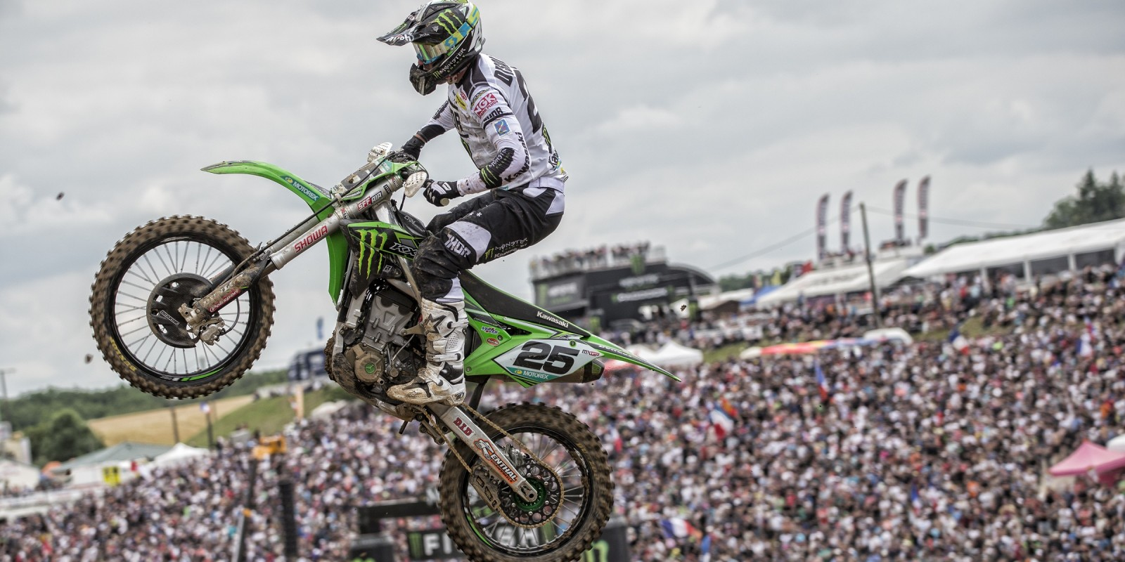 Clement Desalle at the 2016 MXGP of France