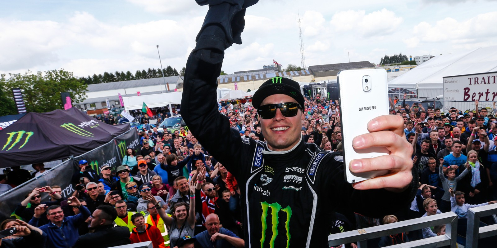 Sunday images from round three of the 2015 FIA World Rallycross Championship