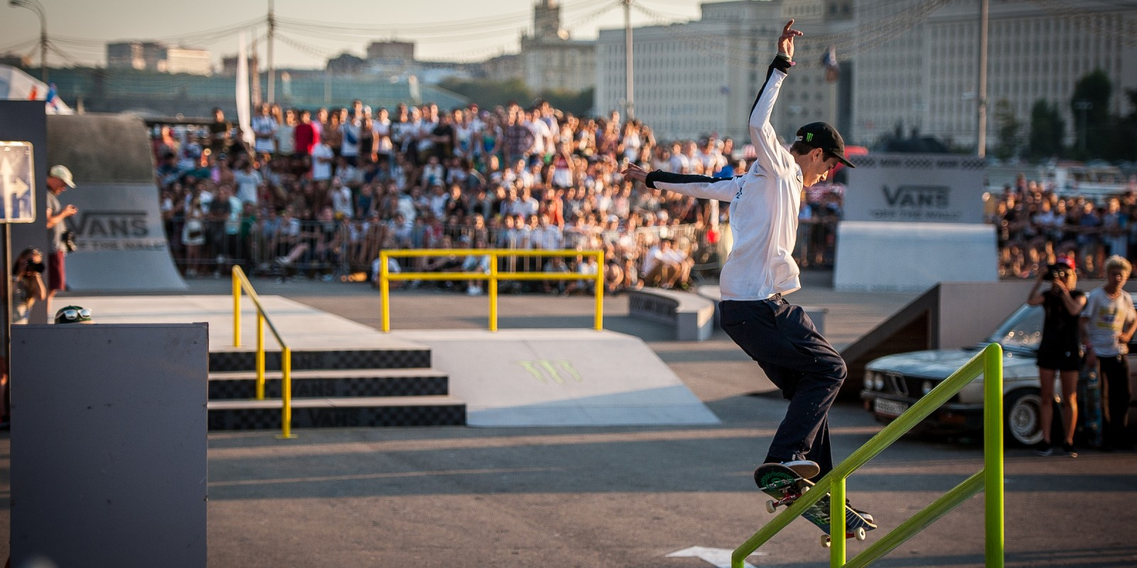 Images from House Of Vans in Moscow