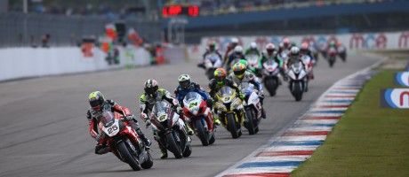 Images from Round 10 of the BSB championship as Josh Brookes takes a double win in the first leg of the Showdown