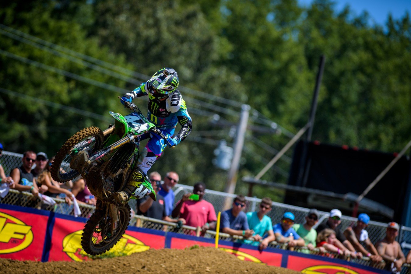 Adam Cianciarulo during the 2016 Pro MX Nationals in Budds Creek Raceway - Mechanicsville, MD