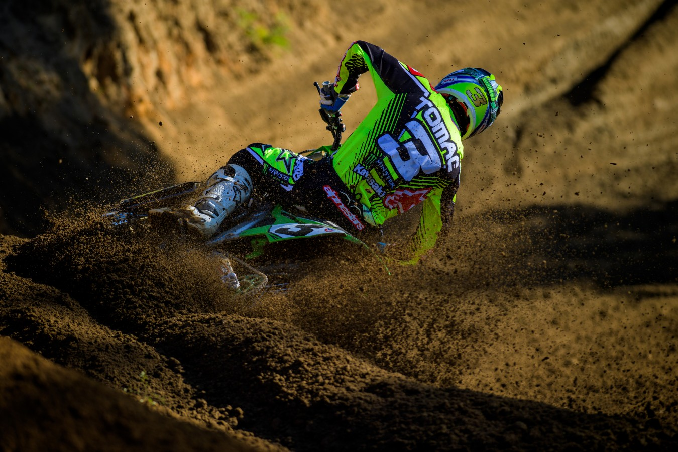 Eli Tomac during the 2016 Pro MX Nationals in Budds Creek Raceway - Mechanicsville, MD