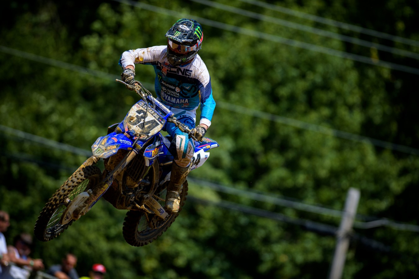 Phil Nicoletti during the 2016 Pro MX Nationals in Budds Creek Raceway - Mechanicsville, MD