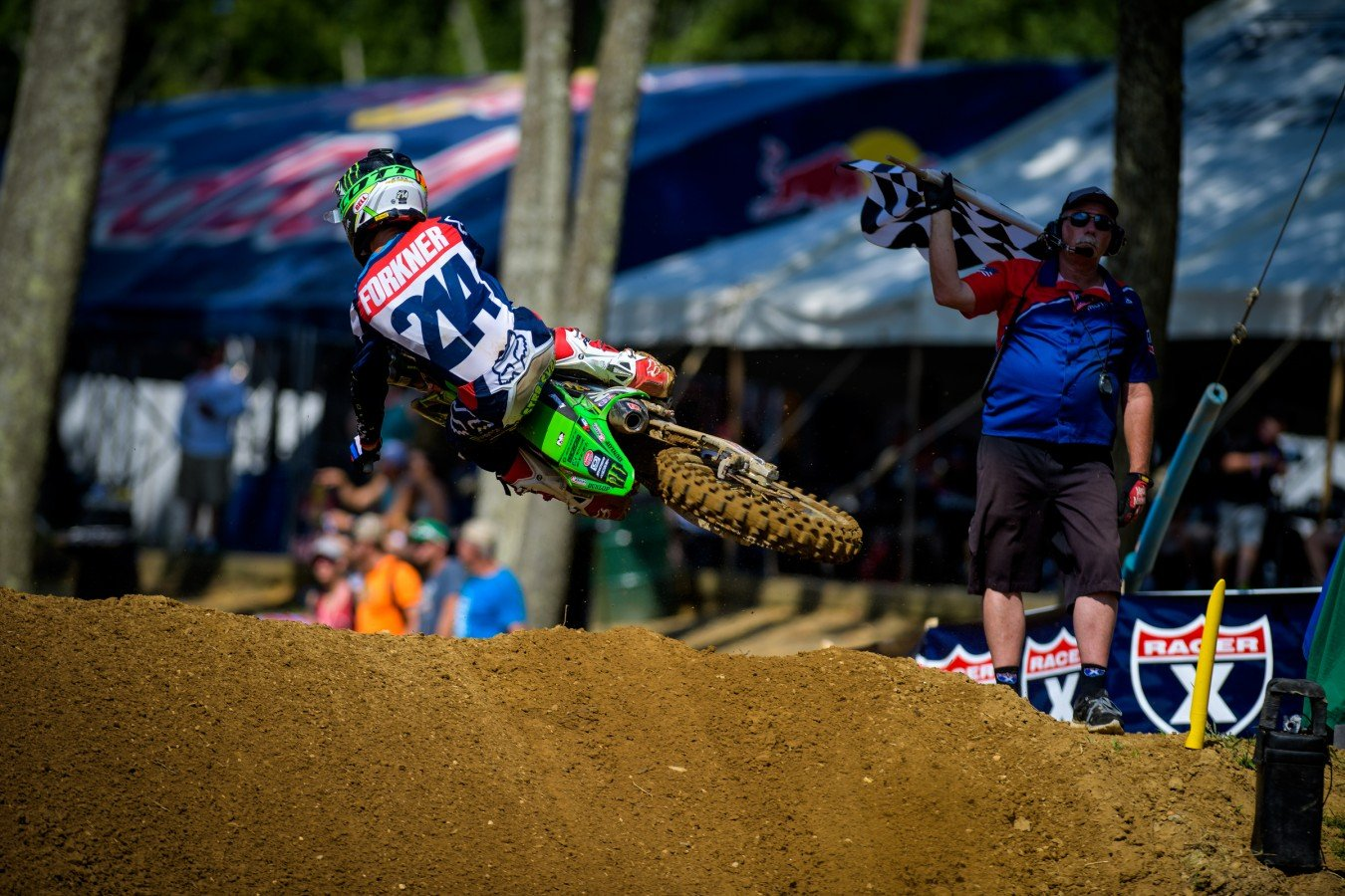 Austin Forkner during the 2016 Pro MX Nationals in Budds Creek Raceway - Mechanicsville, MD