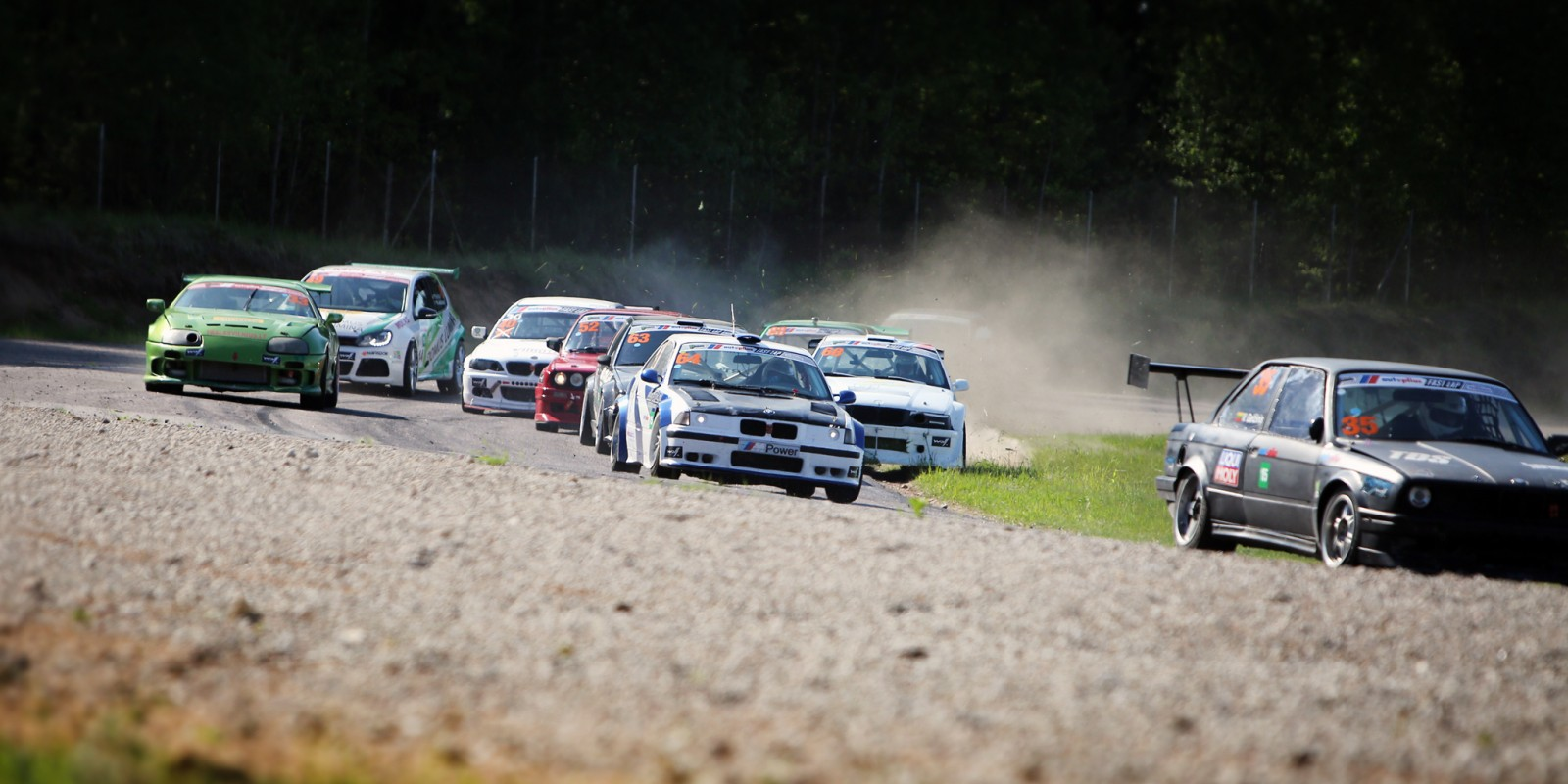 Image album from the second day of the Fast Lap event in Kaunas, Lithuania.