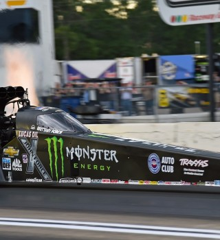 Brittany Force competing in the 2016 NHRA Season in Brainerd, MN