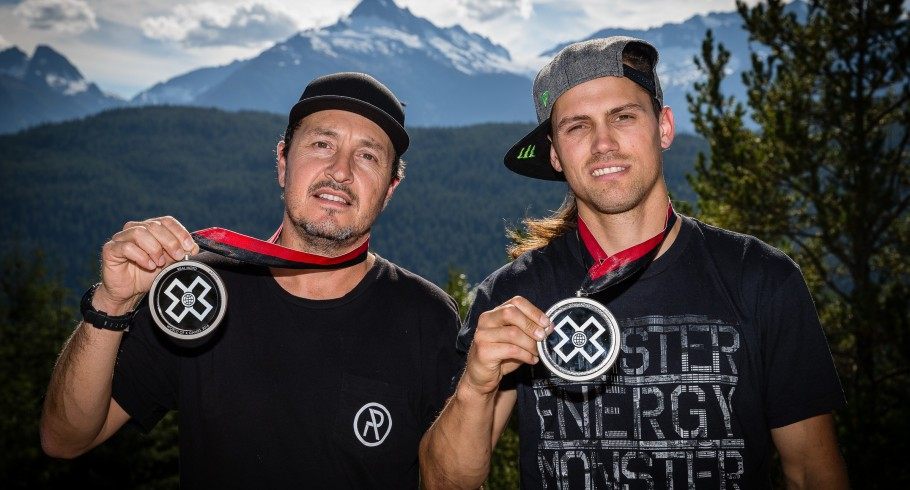 Kris Foster and Anthony Vitale win silver in the 2016 X-Games RealMoto