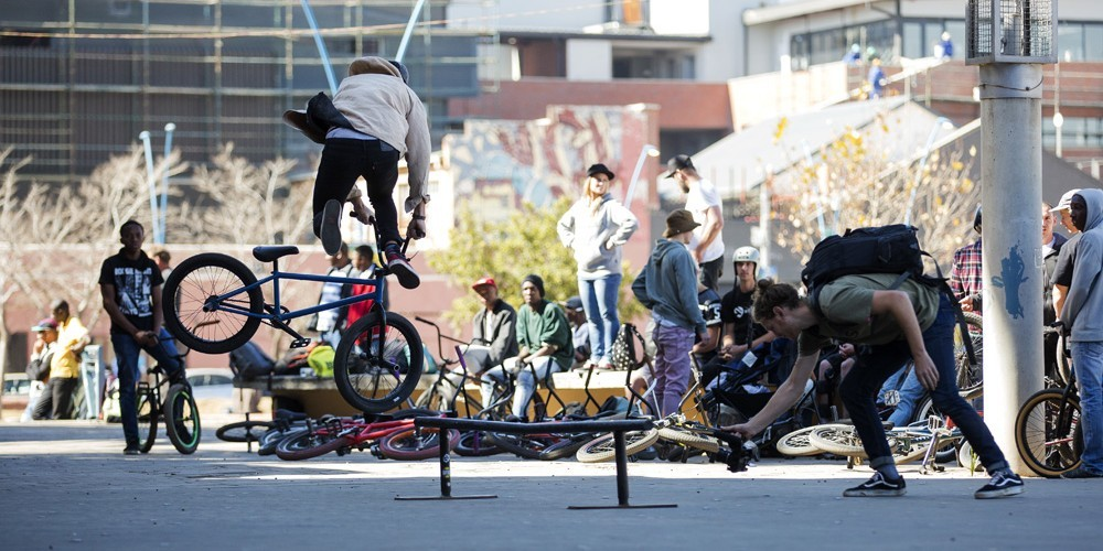 BMX Day in Johannesburg, South Africa