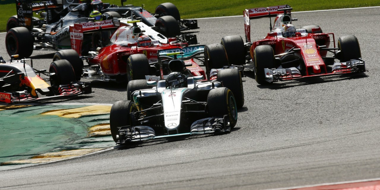 Sunday / Race images from the Belgium Grand Prix