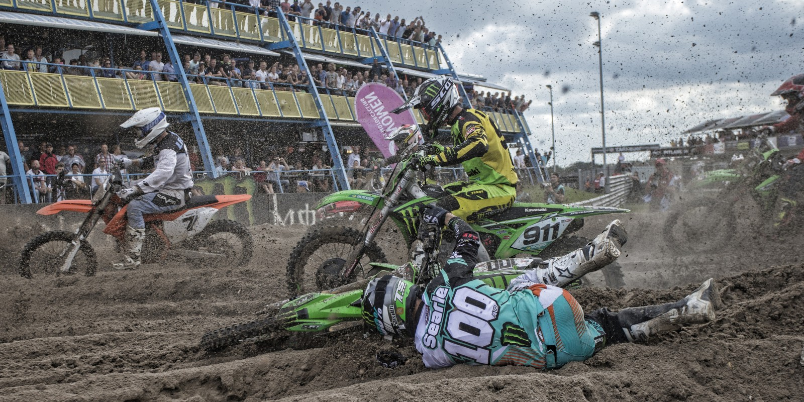 Tommy Searle at the 2016 MXGP of the Netherlands