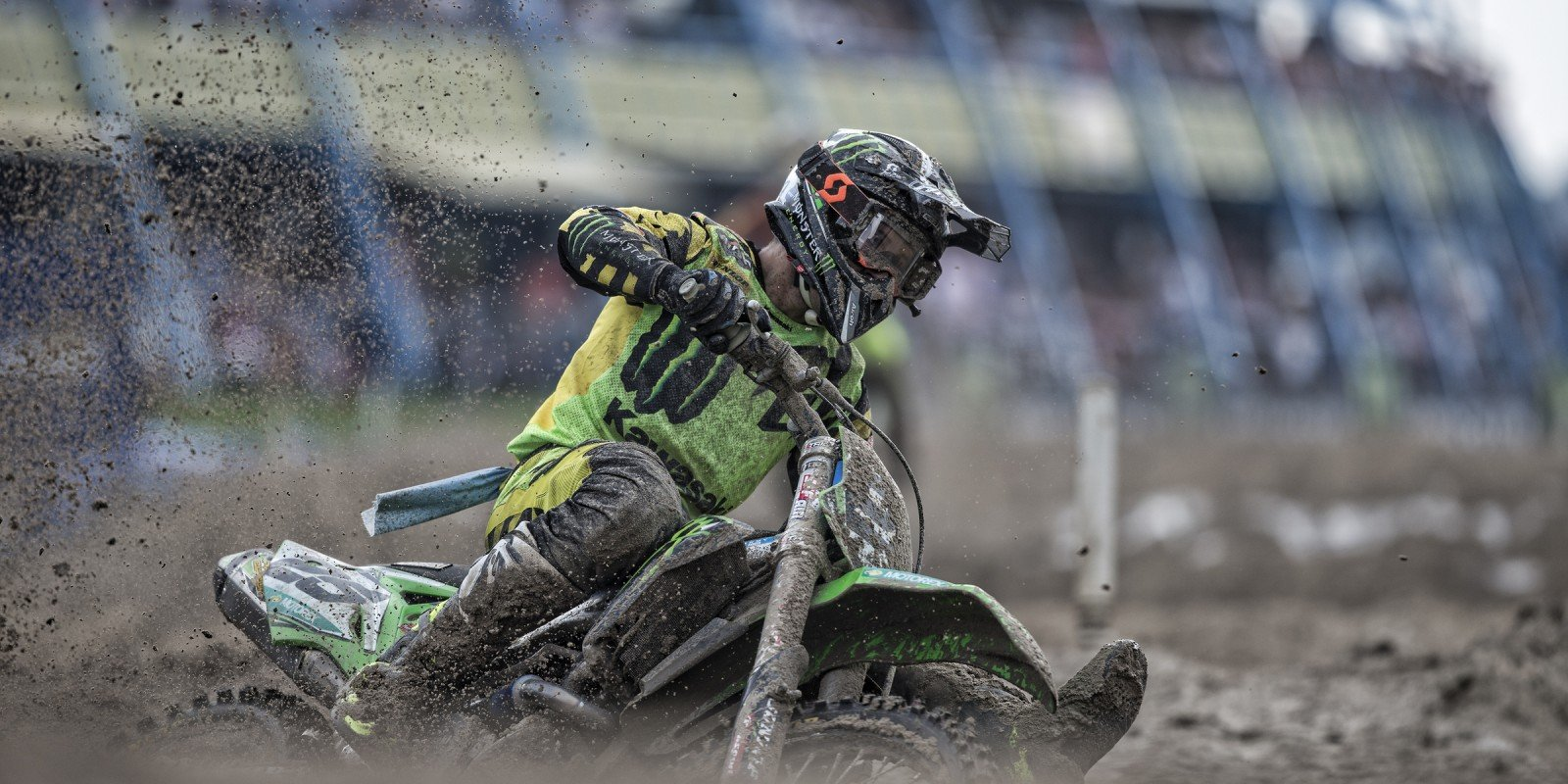 Clement Desalle at the 2016 MXGP of the Netherlands