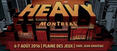 Heavy Montreal 2016 Event poster