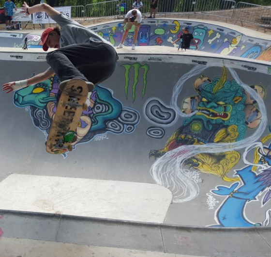 Skate competition set in Nîmes, France on 27-28 August 2016