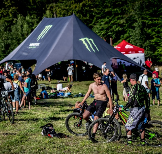 Diverse Downhill Constest 2016 Rd2 Wisla - fans and Monster double wigwam