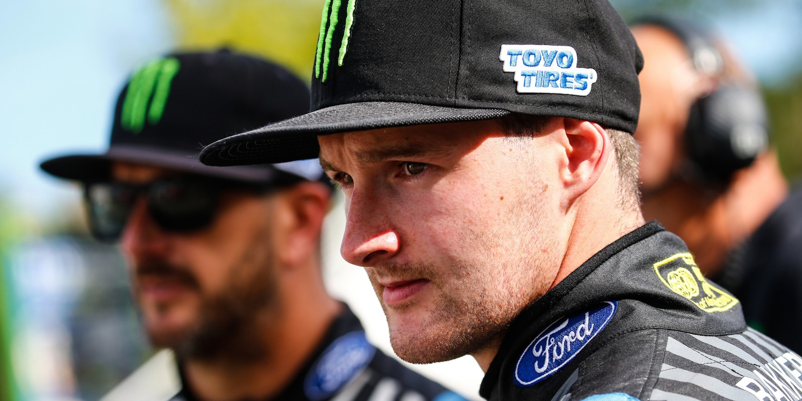 Saturday / Day One images of Andreas Bakkerud at the World RX of France