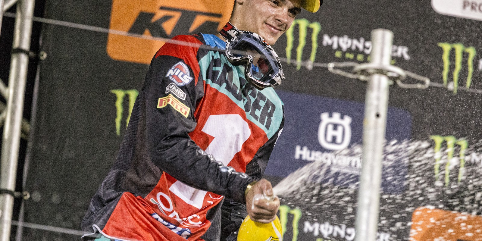 Tim Gajser at the 2016 Monster Energy MXGP of Americas