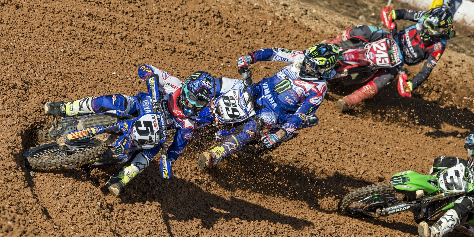 Justin Barcia at the 2016 Monster Energy MXGP of Americas